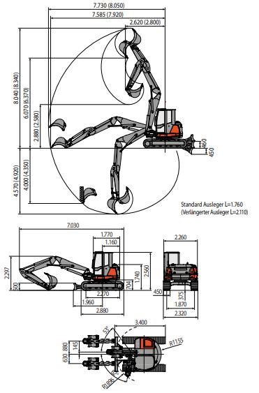 Reisinger-Baumaschinen_minibagger_eurocomach_100TR_2